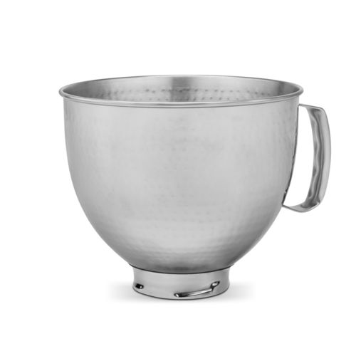 KitchenAid - 4,8 L Hammered stainless steel bowl