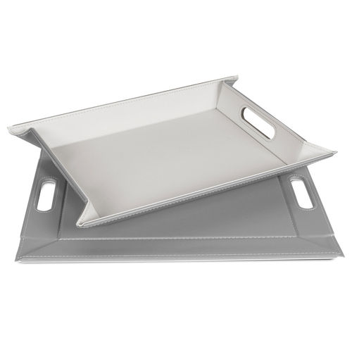 Freeform - Tray - Grey / White - 55 x 41 cm