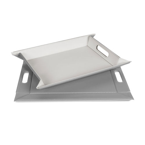 Freeform - Tray - Grey / White - 45 x 35 cm