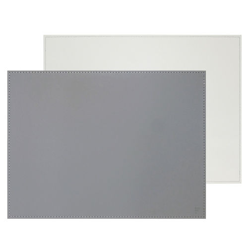 Freeform - Placemat - Grey / White - 40 x 30 cm
