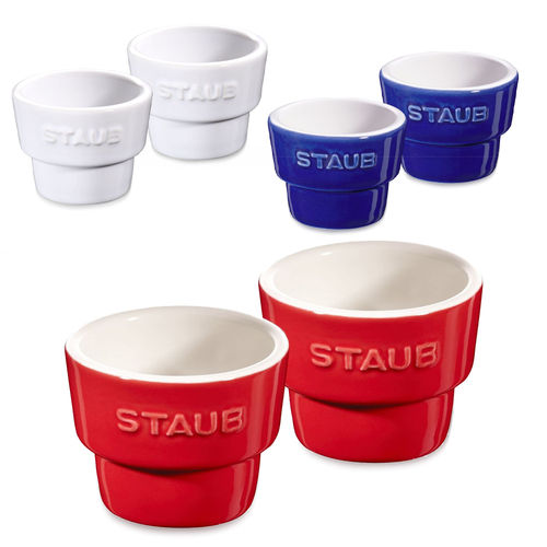 Staub - Ceramique egg cup - set of 2 pieces