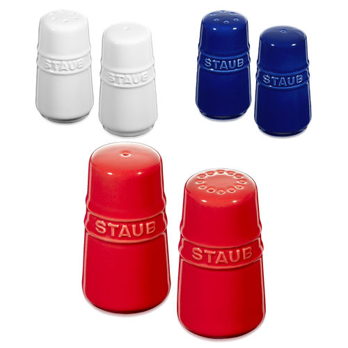 Staub - Ceramique salt & pepper shaker - set of 2 pieces