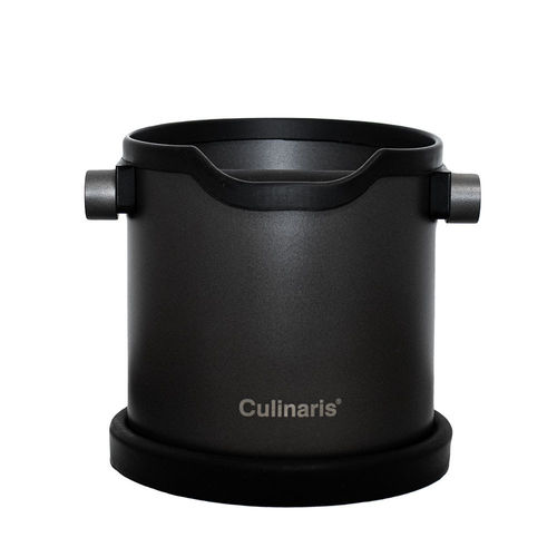 Culinaris - Espresso Knock Box - Black matt or stainless steel matt