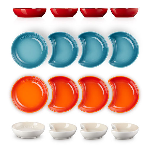 Le Creuset - Set of 4 Sauce Dishes